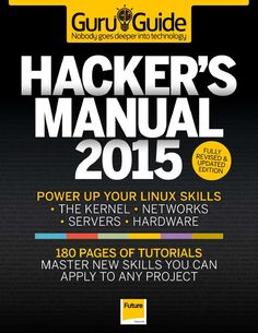 Hacker's Manual 2015 : Power up your linux skills Linux, Computer Programming, Computer Science, Computer Coding, Hacking Books, Learn Hacking, Coding Academy, Cell Phone Hacks, Smartphone Hacks