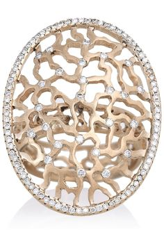 Ileana Makri | 18-karat rose gold diamond ring | NET-A-PORTER.COM