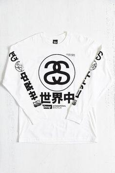 Stussy Japan International Long-Sleeve Tee