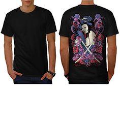 Oriental Graphic Design Wellcoda Japan Dragon Mens Long Sleeve T-shirt