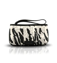 L.A.M.B. Black Cream Clutch on glamouronthego.co.uk