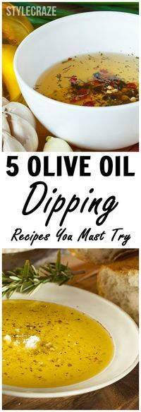 Olive Oil Dipping Recipes
