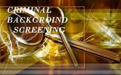 What You Should Know About Criminal Background Check Providers?