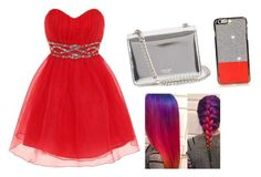 """""""Pretty prom"""" by kikiflawless ❤ liked on Polyvore featuring beauty, Dorothy Perkins and Rochas"""