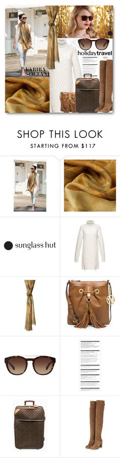 """""""Celebrate in Every Shade with Sunglass Hut: Contest Entry 6"""" by nansg ❤ liked on Polyvore featuring moda, Alexander Wang, MICHAEL Michael Kors, Dolce&Gabbana, Arche, Louis Vuitton e Topshop"""