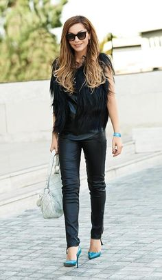 Despina Vandi Team V, Style Fashion, Skinny Jeans, Singer, Chic, My Style, How To Wear, Outfits, Clothes