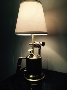 Vintage Blow Torch Lamp Blow Torch Lamp by TheAviaryCreations