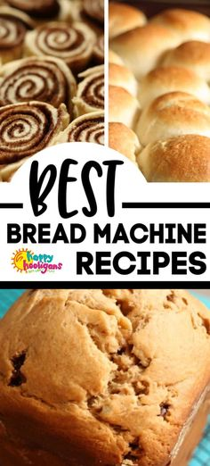 If you have a bread maker you HAVE to add these to your Must-Make list. Theyre guaranteed to be instant favourites with your family. - Bread Maker - Ideas of Bread Maker Bagel Recipe Bread Machine, Bread Maker Banana Bread, Dinner Rolls Bread Machine, Bread Machine Recipes Healthy, Bread Machine Cinnamon Rolls, Best Bread Machine, Bread Maker Recipes, Make Banana Bread, Easy Bread Recipes