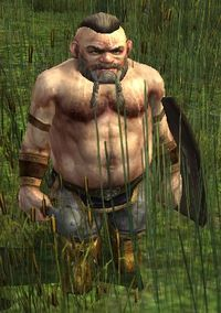 Dourhand Trapper can be found wandering Rushock Bog in The Shire.