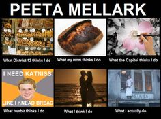 "Peeta's image: | 17 Jokes Only ""Hunger Games"" Fans Will Understand"