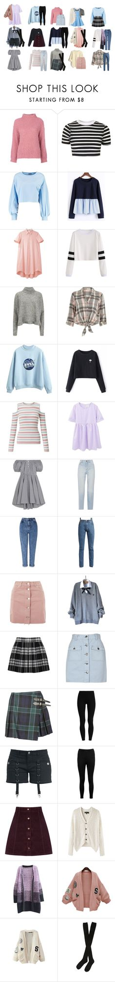 """""""Rose Summers Outfit"""" by silentdoll ❤ liked on Polyvore featuring Boutique Moschino, Topshop, Boohoo, WithChic, Charles Anastase, Designers Remix, River Island, Miss Selfridge, Caroline Constas and Yves Saint Laurent"""