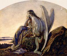 Alexandre Cabanel, The Evening Angel, 1848