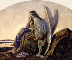 Alexandre Cabanel, The Evening Angel, 1848