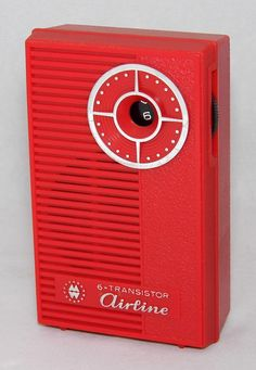 https://flic.kr/p/P5B9jB | Vintage Airline 6-Transistor Radio By Montgomery Ward, Model GEN-1127A, AM Band Only, Made In Japan, Circa 1965