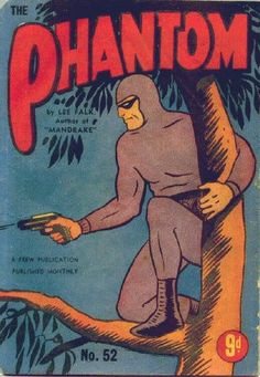 Australian edition from the mid fifties...The Phantom #52 Frew Publications, Sydney