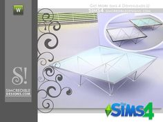 by SIMcredibledesigns.com  Found in TSR Category 'Sims 4 Coffee Tables'