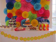 Cinco de mayo dessert table