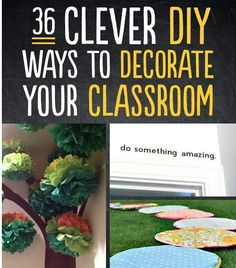 neat ideas (not only for classrooom)