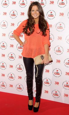 Binky Felstead At The Diet Coke 30th Birthday Party, 2013.