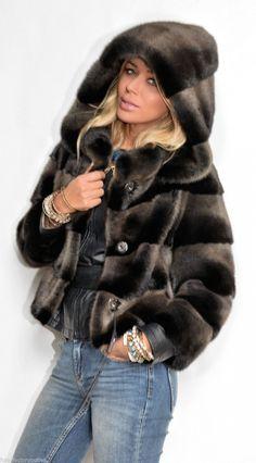 mink furs - italy superior saga mink fur coat