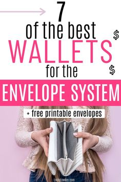 7 wallets that are perfect for the cash envelope system. If you are looking to perfect the envelope system make sure to use one of the budget wallets. #budgetwallet #cashenvelopewallets #daveramsey #envelopesystem #budgeting Best Money Saving Tips, Money Saving Challenge, Saving Money, Envelope Budget System, Cash Envelope System, Budgeting System, Budgeting Finances, Budget Binder, Budget Planner