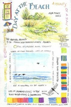 * Nature Journaling & Art. especially love all the info on this page.
