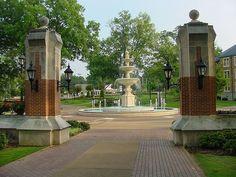 Harrison Plaza, University of North Alabama