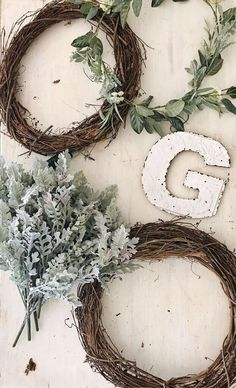 Two Super Affordable DIY Wreaths