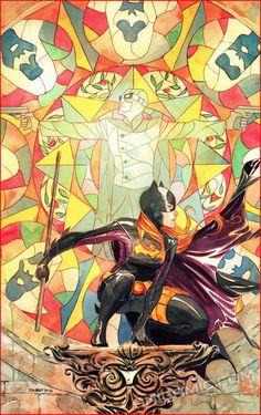 BATGIRL #21 Cover ART PRINT Dustin Nguyen