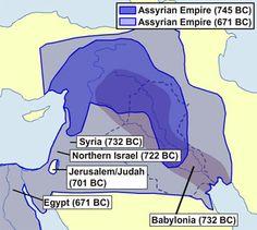 Peak of Assyrian Empire