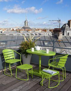 Table Et Chaise Pour Le Jardin Collection Printemps été Castorama ...
