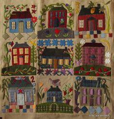Scrap,quilt and stitch: Dans mon jardin...