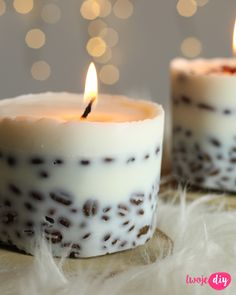 Kawowe świece, coffee candles diy - tutorial on twojediy Diy Candles, Pillar Candles, Diy And Crafts, Crafts For Kids, Coffee Candle, Home Hacks, Christmas Projects, Diy Art, Diy Tutorial