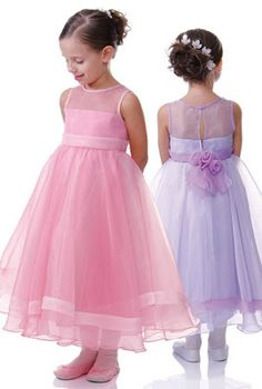 WDW (WEDDING DAY WEEKLY ) BLOGGING FOR BRIDES: Flower Girl Dresses Go Pastel