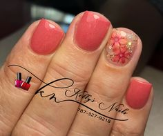 Wow love these fall gel nails! Fancy Nails, Red Nails, Cute Nails, Pretty Nails, Pink Nail, Pretty Nail Designs, Gel Nail Designs, Uñas Color Coral, American Nails