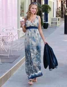 Spring/summer dress, for us bigger chested gals.