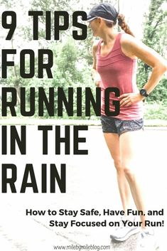 Running in the rain can be fun if you plan our your run and have the right gear! Most importantly, you need to stay safe when running in the rain but you also want to be comfortable. Check out the running tips from Mile by Mile about how to prepare for a run in the rain in order to be able to focus on your run, avoid chafing, stay comfortable, and stay safe. A rainy run can be a fun experience if you make some adjustments for your run. Running Routine, Running Plan, How To Start Running, Running Workouts, Running Tips, How To Run Faster, How To Run Longer, Workout Routines, Running Training Programs