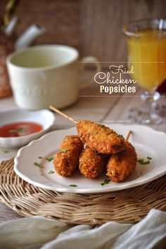 This most amazing appetiser, Fried Chicken Popsicles are made by combining chicken mince with lots of different spices and veggies, and then coating it with corn flakes crumbs and deep frying it to…