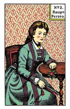 The Kipper Cards meaning ofthe main Person female from the original Kipper Fortune Telling Cards, if you are a woman, take care that today you not push yourself to the fore Female Characters, Disney Characters, Fictional Characters, Fortune Telling Cards, Cartomancy, Oracle Cards, Card Reading, Tarot Cards, Playing Cards