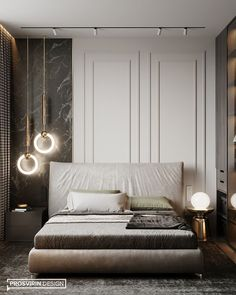 elegance aided by taupe colors in a room design that is luxurious Master Bedroom Interior, Bedroom Bed Design, Modern Bedroom Design, Home Room Design, Contemporary Bedroom, Home Decor Bedroom, Home Interior Design, Bedroom Ideas, Lux Bedroom