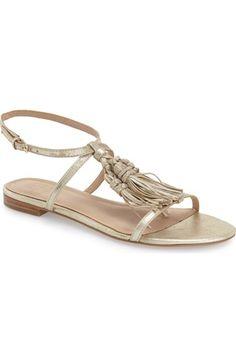 519503be91164 marc fisher crystal tassel flat sandal Flat Sandals