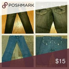 Bundle jeans Skinny jeans.. from modern love.? Nwt.. size 1.. inseam 30/31   ?Boot cut jeans... gently used.. still in great condition.. no flaws.. size 1.. inseam 30/31 Jeans