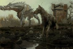 concept art,scifi, fantasy, illustration, more from this author>> http://3rd-art.blogspot.com.es/2013/12/sergey-kolesov-peleng.html