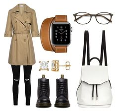 """""""Untitled #414"""" by syshrn on Polyvore featuring Boohoo, RED Valentino, Dr. Martens, rag & bone and Hermès"""