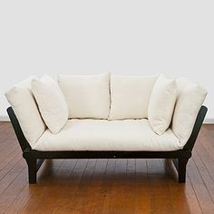 Studio Day Sofa from World Market. It would be nice to have something like this for a spare bedroom.