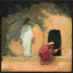 He is risen J. Kirk Richards