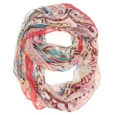 The Infinity Scarf of your Dreams. The coolness of silk but without the…