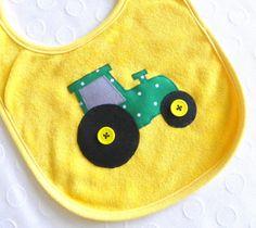Big Green Tractor Bib