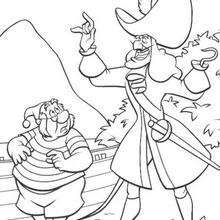 Disney coloring page - Peter Pan, Wendy and Tiger Lily ...