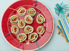 Kids Can Make: Roasted Turkey and Basil Cream Cheese Pinwheel Sandwiches